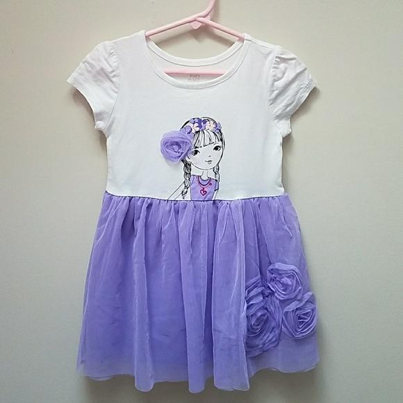 9d1fd51bfeec Children's Place Dresses | Childrens Place Girls Tutu Jersey Dress ...